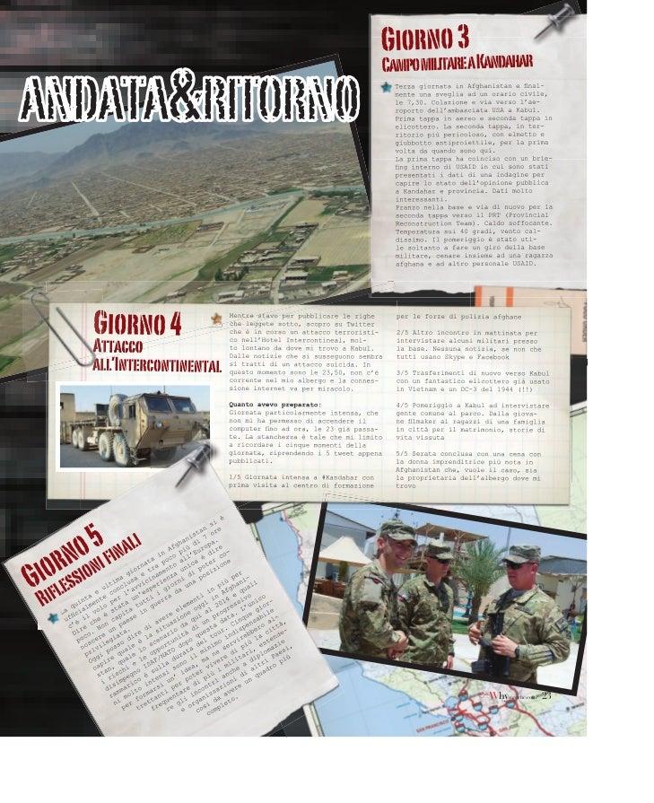 Diario dell'Afghanistan su Why Marche Slide 2
