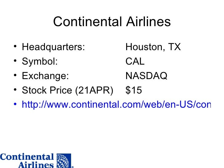 CONTINENTAL AIRLINES FLIES HIGH WITH REAL TIME BUSINESS ...