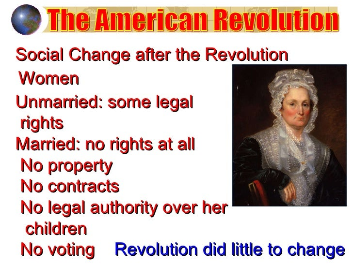 Women's Rights After the American Revolution