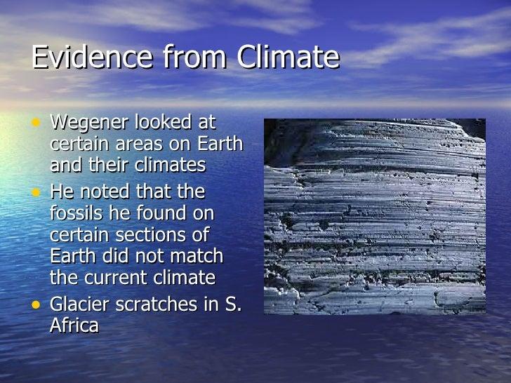 evidence continental drift essay