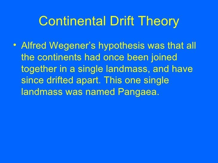 Continental Drift Theory Template Slide 3