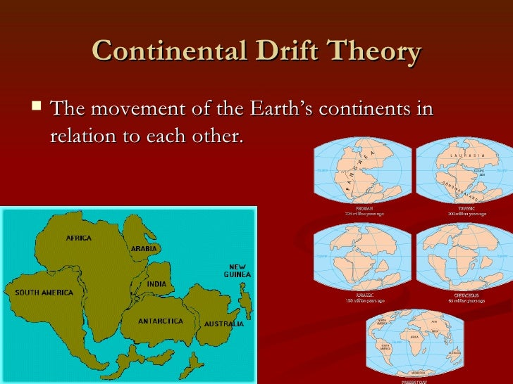 continental drift is unlikely to have Effects of continental drift on flora and fauna continental drift has helped create the diversity we see present in continental drift is unlikely to have toaken.