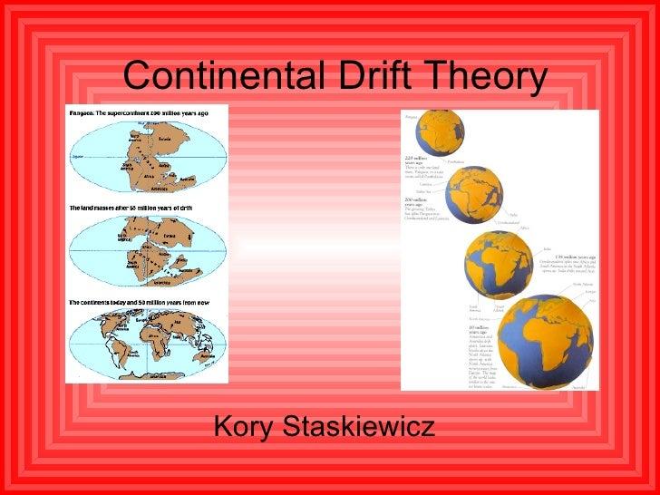 Continental Drift Theory Kory Staskiewicz