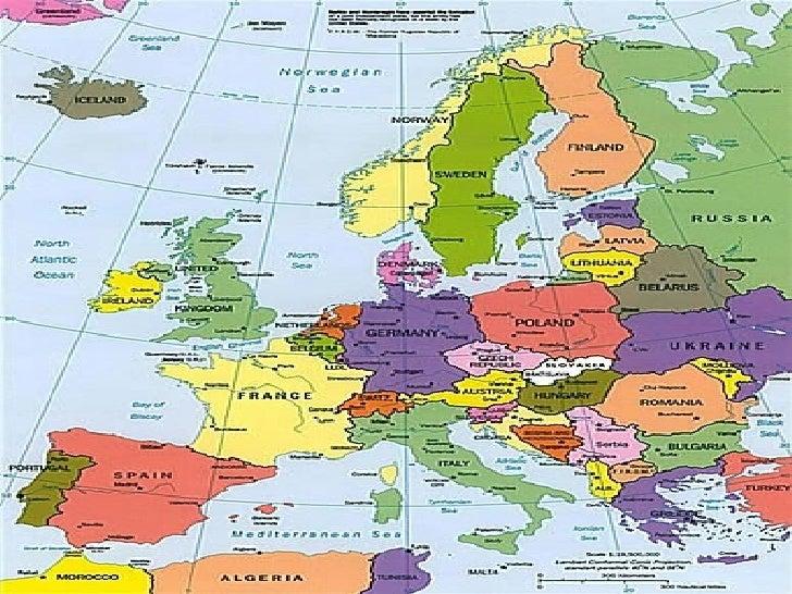 Continente europeuA Europa se encontra localizada totalmente no hemisférionorte.As principais fronteiras do continente eur...
