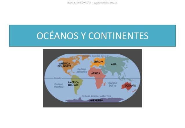 OCÉANOS Y CONTINENTES Asociación CONECTA – www.conecta.org.es