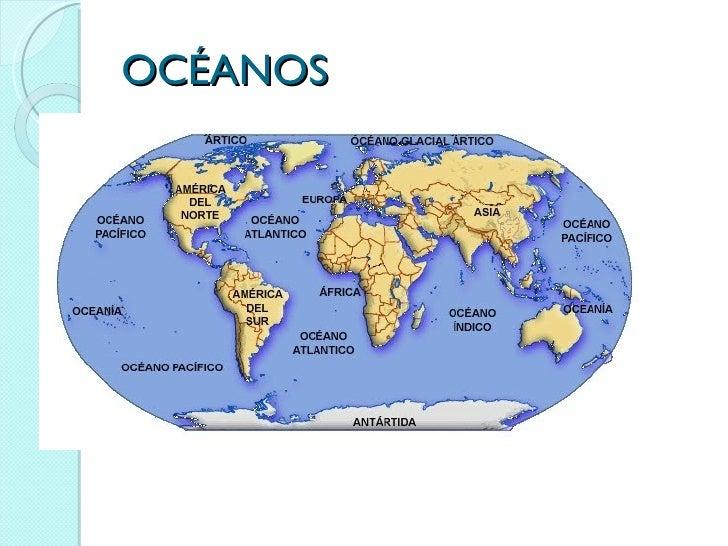 Mapa Para Jugar Dónde Está Continentes Y Océanos: Mapa Con Los Continentes Y Oceanos Continentes Y Oceanos