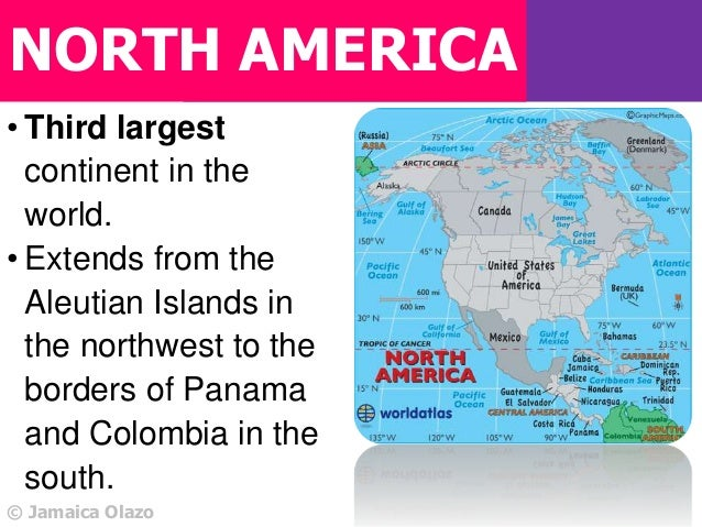 a description of the 3rd largest area in central america There are 23 countries in north america and 9 dependent territories with the united states of america being the largest and saint kitts and nevis being the smallest by population when most people think of north america they think of two countries: the united states of america and canada.
