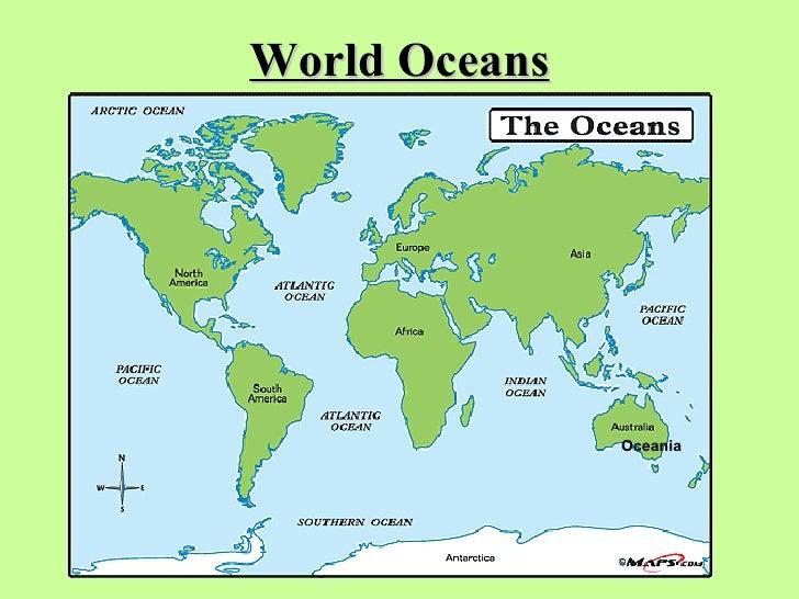 Continents  U0026 Oceans