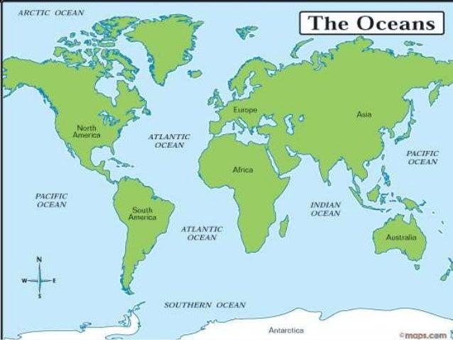 Continents Oceans Amp Landforms
