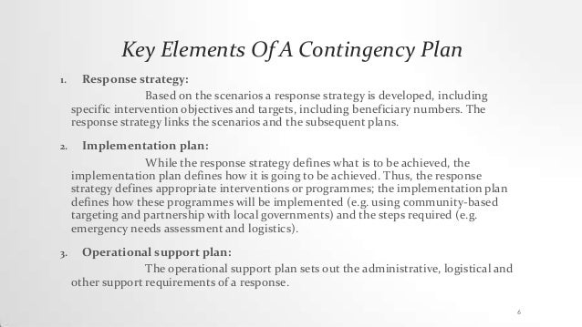 describe what actually is the contingency approach with appropriate examples Continue to describe each team, their responsibilities, leadership police, fire) as appropriate the contingency plan is to be activated if one or more of the following criteria are met: 1 {system name} will be • the contingency planning coordinator is to notify the alternate site.
