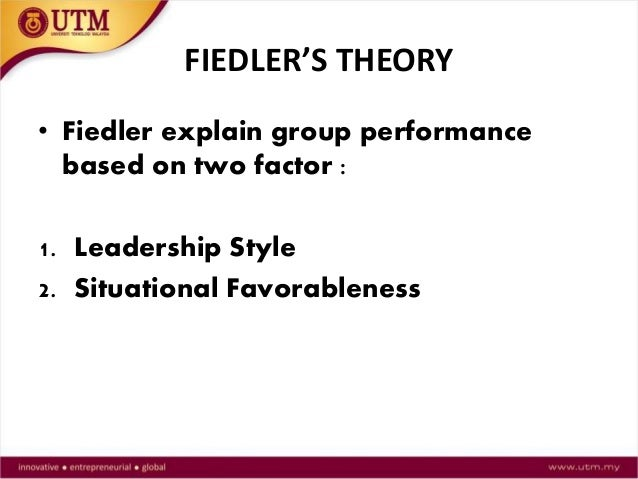 2 briefly explain the fiedler s contingency model of leadership There are different leadership theories developed throughout the history most popular ones are trait theories, behavioral theories, contingency theories, and leader-member exchange (lmx) theory the author of the post will briefly discuss two theories, fiedler contingency theory and leader-member.