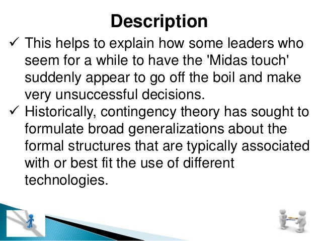 Description  This helps to explain how some leaders who seem for a while to have the 'Midas touch' suddenly appear to go ...