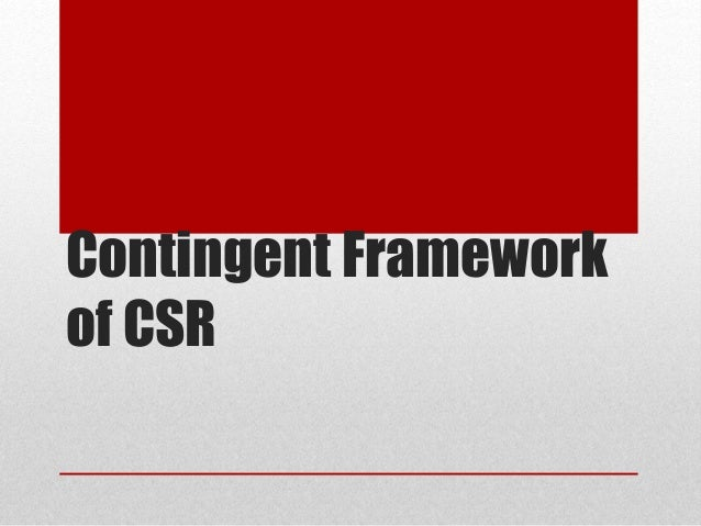 csr and cb framework The company's csr policy framework details the mechanisms for undertaking various programmes in accordance with section 135 of the companies act 2013 for the benefit of the community themes.