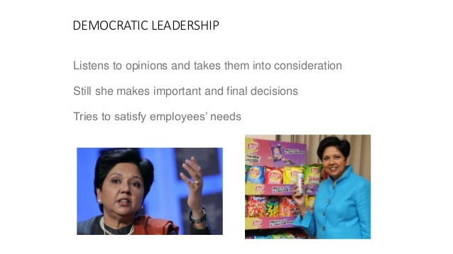 Leadership - The Indra Nooyi Way
