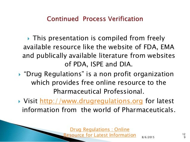  This presentation is compiled from freely available resource like the website of FDA, EMA and publically available liter...