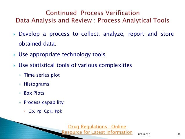  Develop a process to collect, analyze, report and store obtained data.  Use appropriate technology tools  Use statisti...