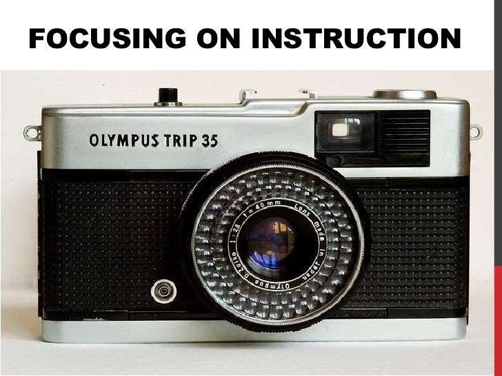 FOCUSING ON INSTRUCTIONWHAT WE LEARNED & WHAT WE'RE DOING