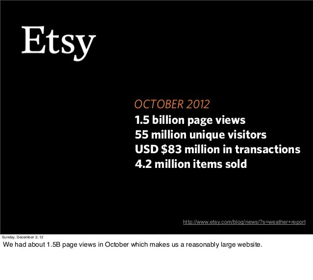 OCTOBER 2012                                         1.5 billion page views                                         55 mil...