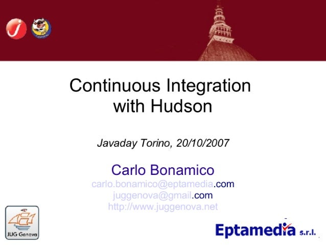 Continuous Integration With Hudson (and Jenkins)