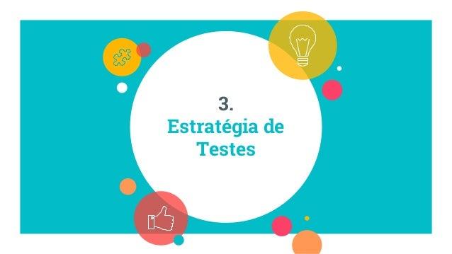 Testes de Integração Testes Exploratórios Testes UnitáriosEstratégia Testes de Aceitação Na prática... - Code Review - Pai...