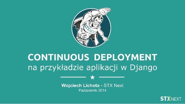 Continuous Deployment aplikacji w Django