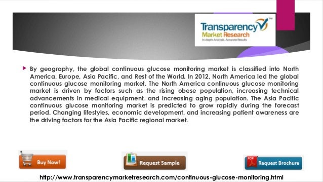Global Continuous Glucose Monitoring Market To Rise At 13
