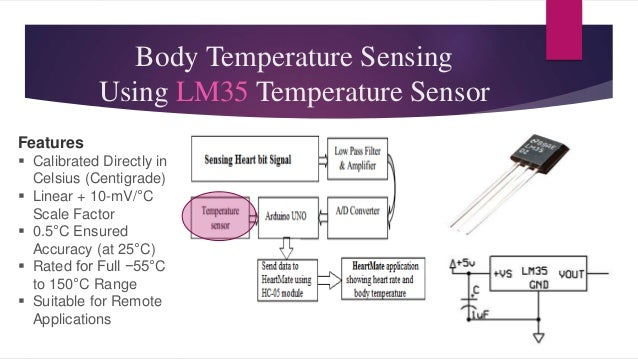 Continuous heart rate and body temperature monitoring system