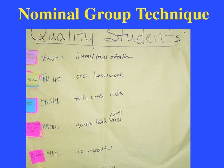 nominal group technique This feature is not available right now please try again later.