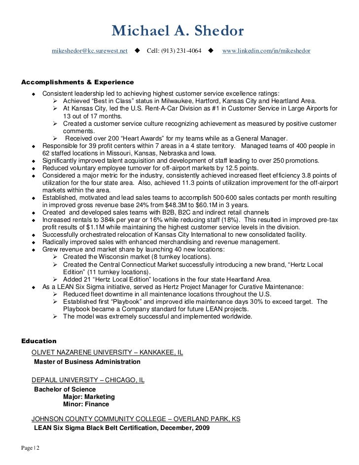 Qa Manager Resume Samples  Qa Manager Resume