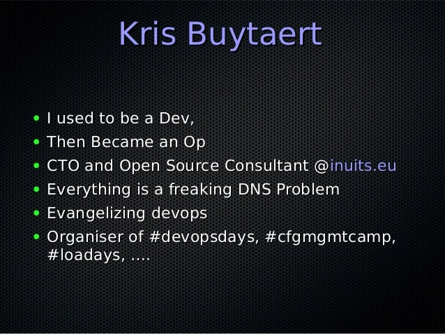 Continuous Infrastructure First  Ignite Edition Slide 2