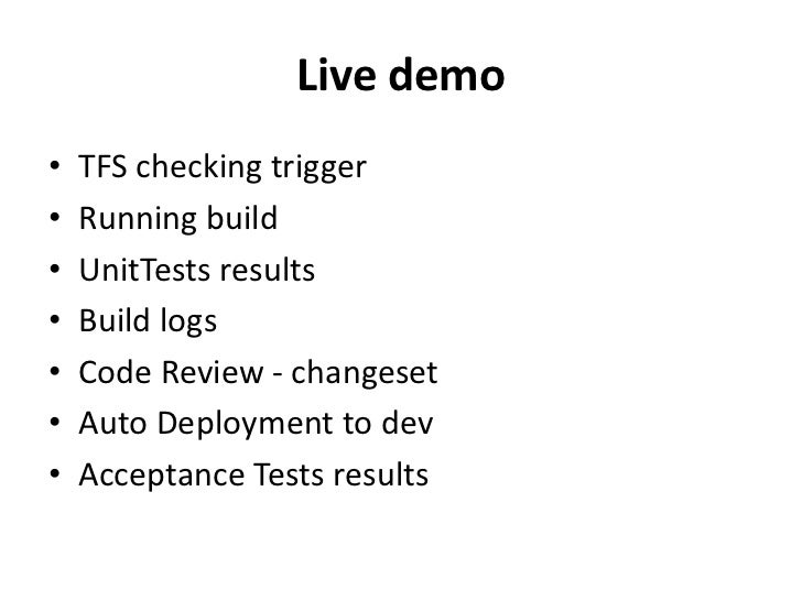 Continuous Integration With Teamcity