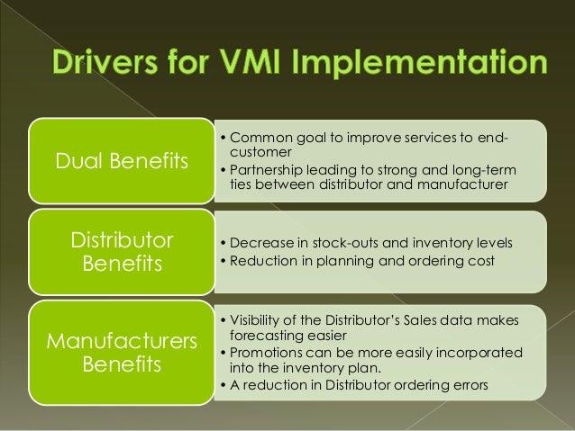 vendor managed inventory company examples
