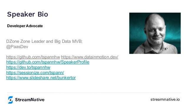 Continuous SQL with Apache Streaming (FLaNK and FLiP) Slide 3