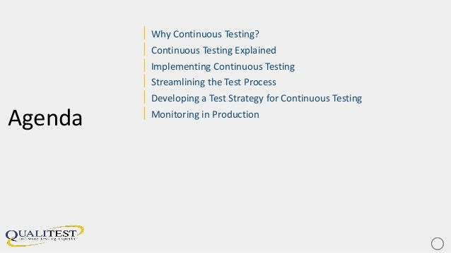 Continuous testing maximising velocity, quality and customer happiness Slide 3