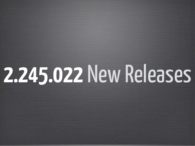 2.245.022 New Releases