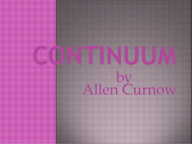 by Allen Curnow