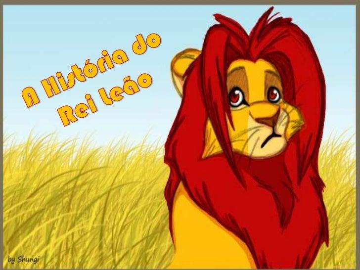 A História do<br />Rei Leão<br />