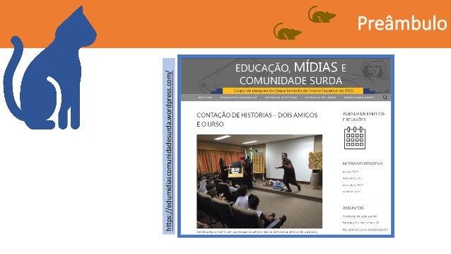 Conto de historias - Comunicação para o COINES 2019 Slide 3