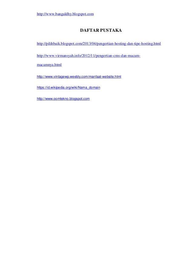 Contoh Laporan Prakerin Tkj Membuat Website