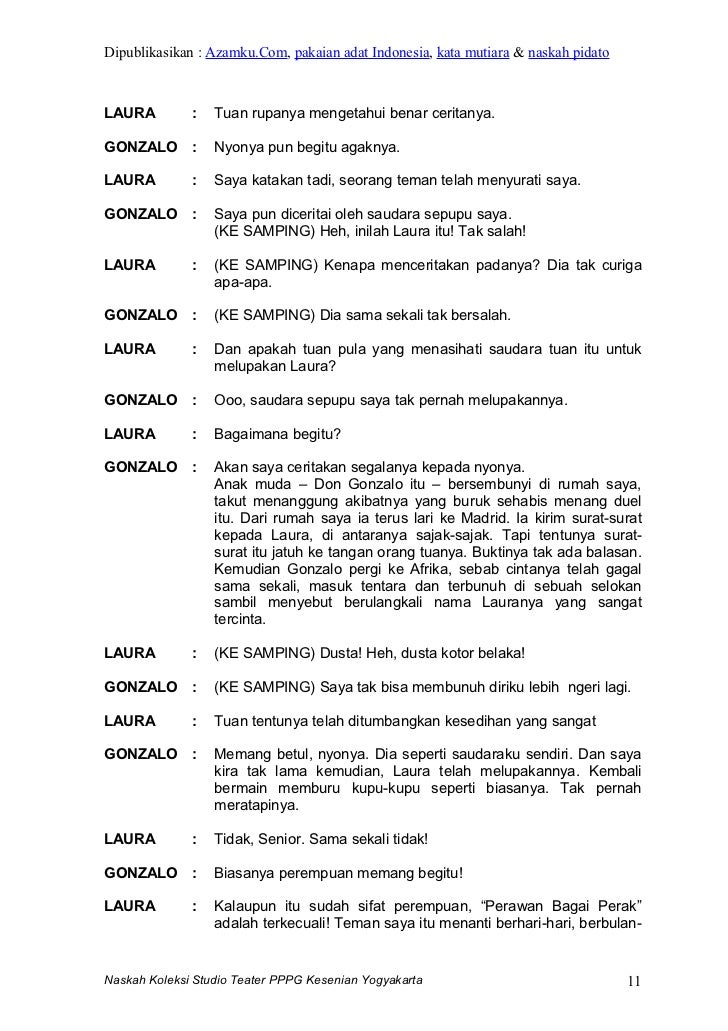 Image Result For Naskah Cerita Rakyat Indonesia