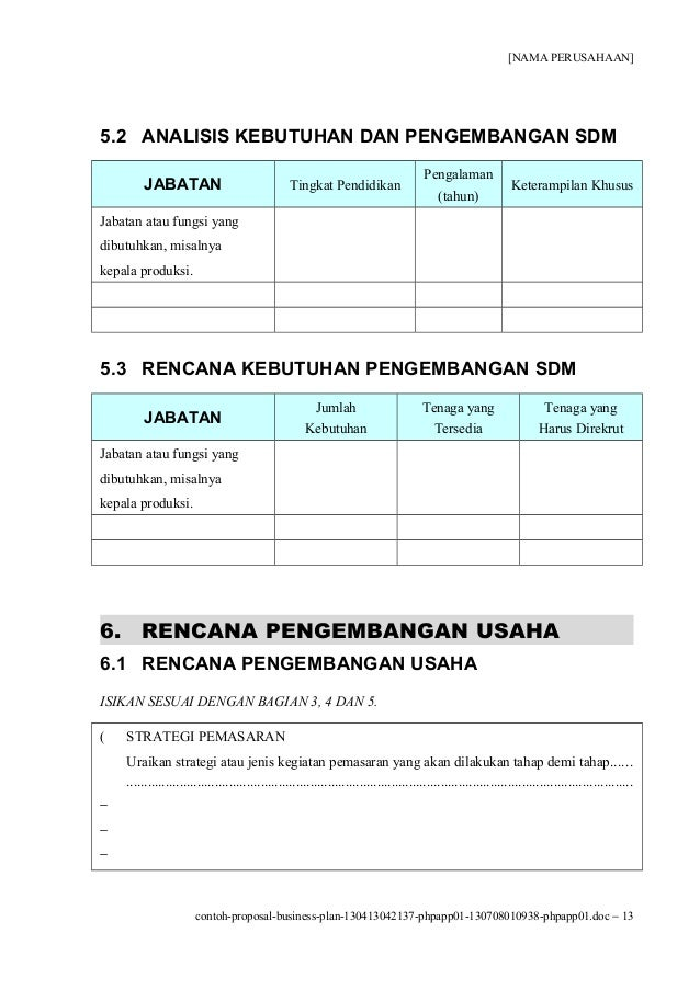 Contoh proposal-business-plan-130413042137-phpapp01