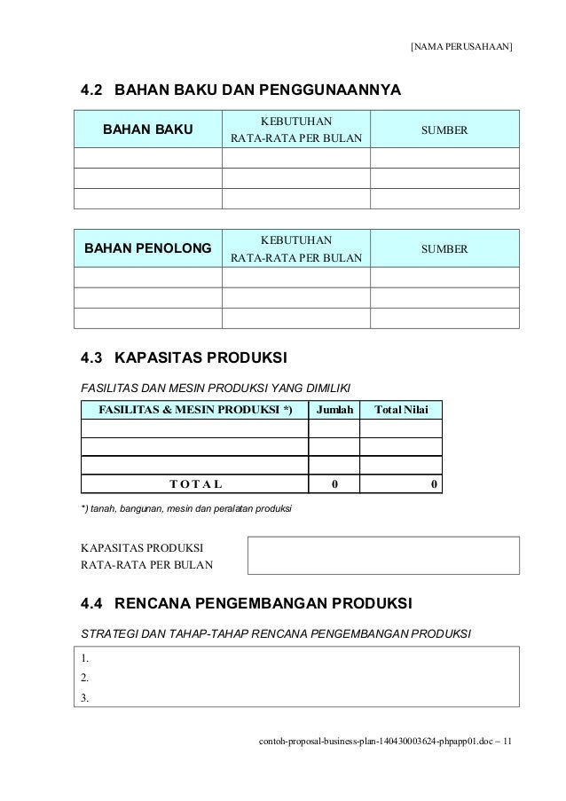 contoh proposal business plan counter pulsa