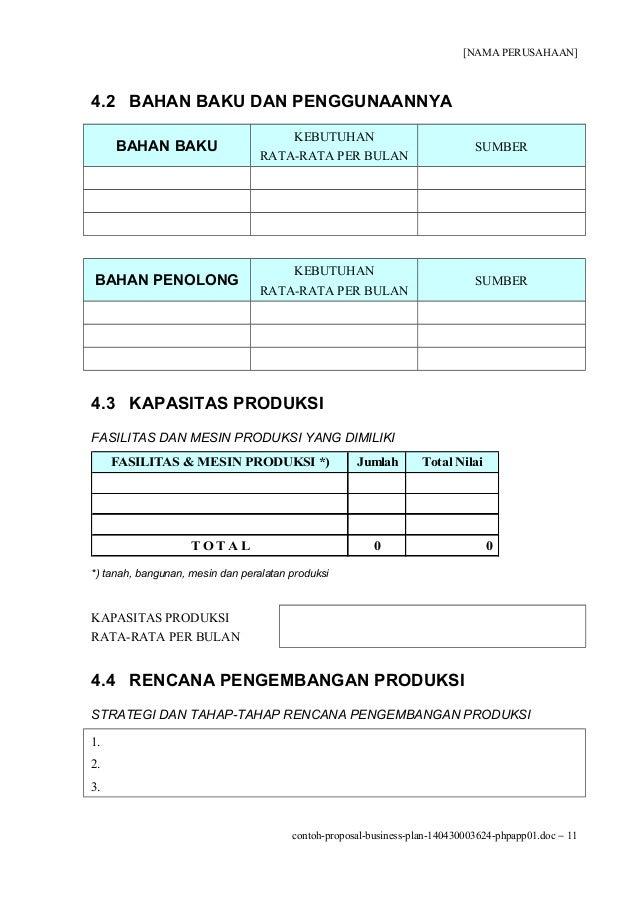 contoh proposal business plan counter pulsa