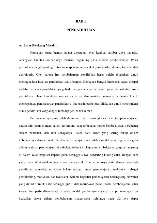 Contoh Proposal Usulan Penelitian Kuantitatif