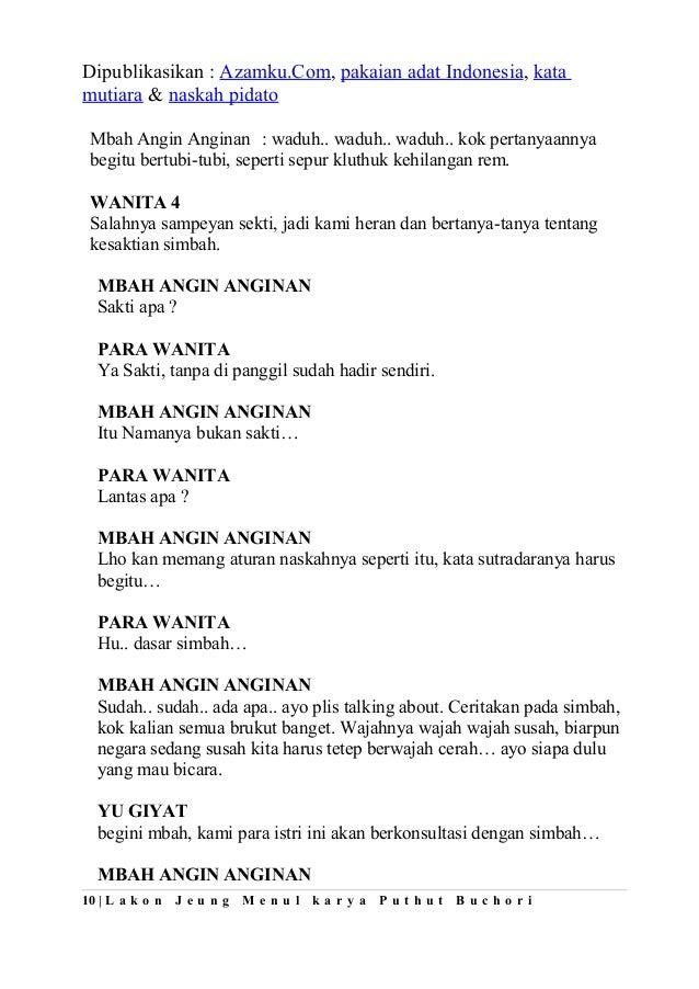 Contoh teks-naskah-drama-komedi