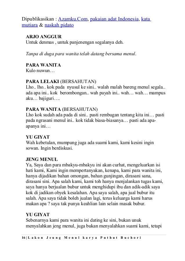 Image Result For Contoh Teks Drama Singkat