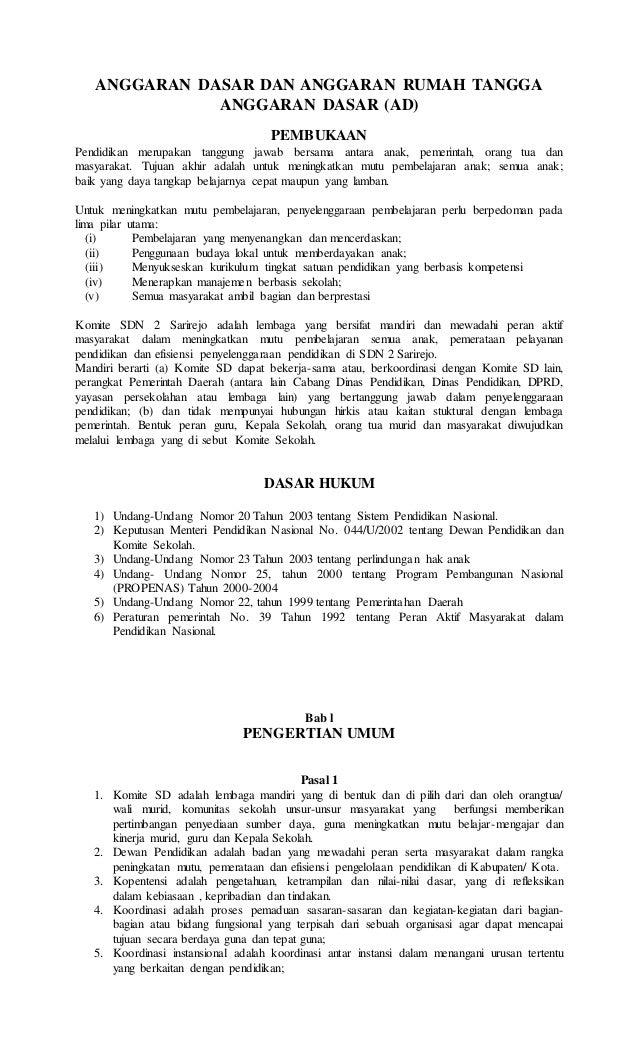 Buatlah Contoh Surat Undangan Dinas Kepada Komite Sekolah ...