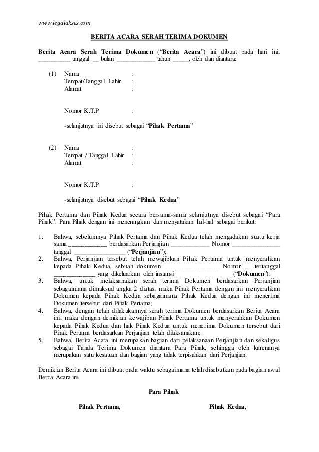 Contoh Surat Tanda Terima Uang Surat 27