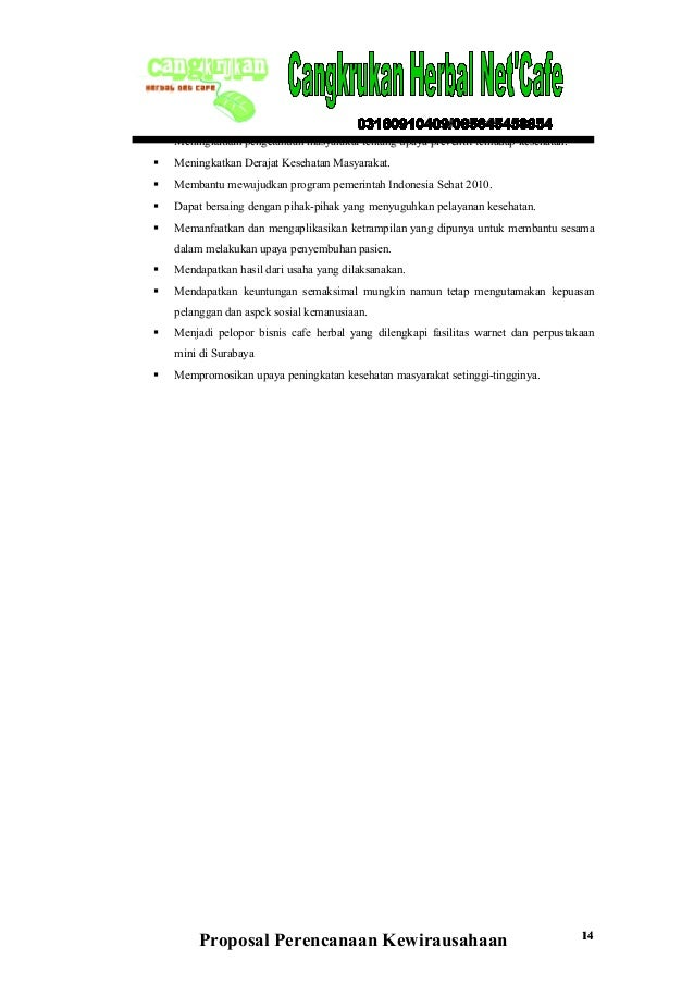 contoh slide presentasi business plan