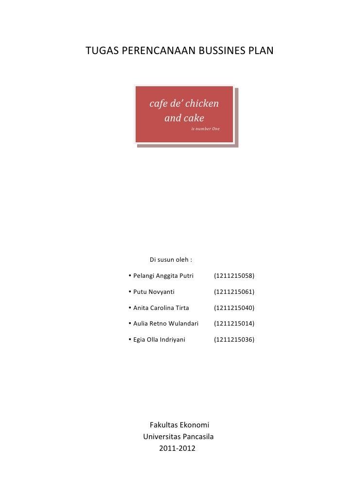 tugas kewirausahaan business plan